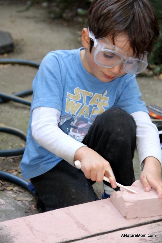 Citblocs, Sunol Kid Hike, Dino Digging 090