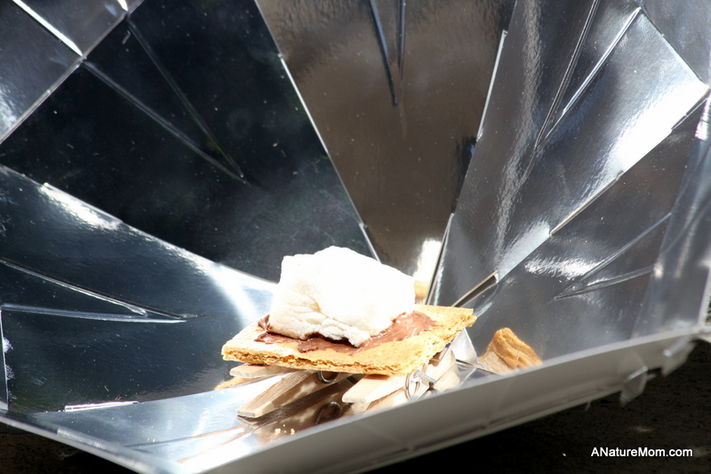 Solar Cooker S'Mores 007